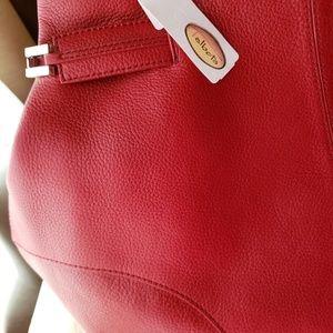Talbot pebble grain leather handbag